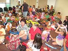 Kids at a workshop