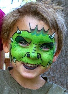 kid as green devil