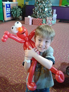 boy with elmo