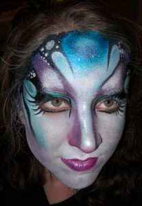 prom girl facepainting2